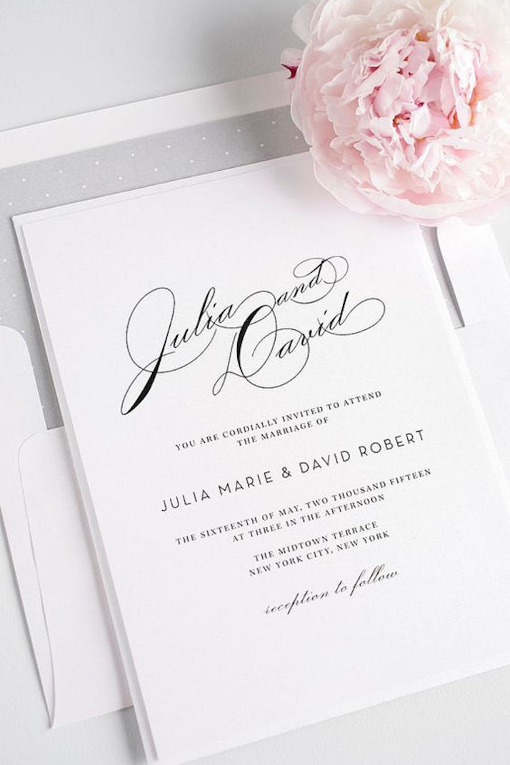 Wedding Invitations: good to know | The Daily Dose