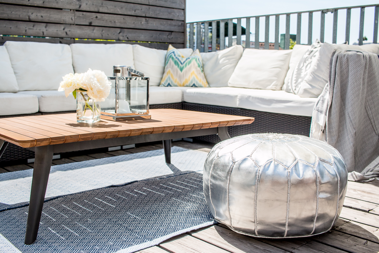 Interior Update: Rooftops - Outdoor Deck Inspiration | Love Daily Dose
