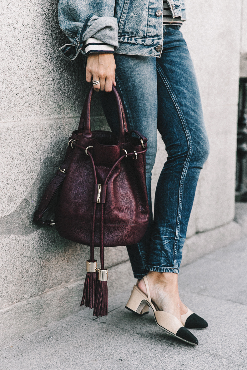 Steal Her Style: Chanel Slingback Shoes by Collage Vintage | Love Daily Dose
