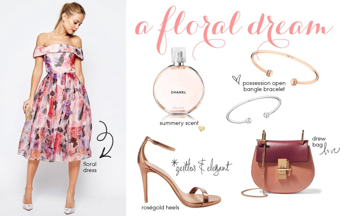 Editor's Pick: Floral Wedding Attire
