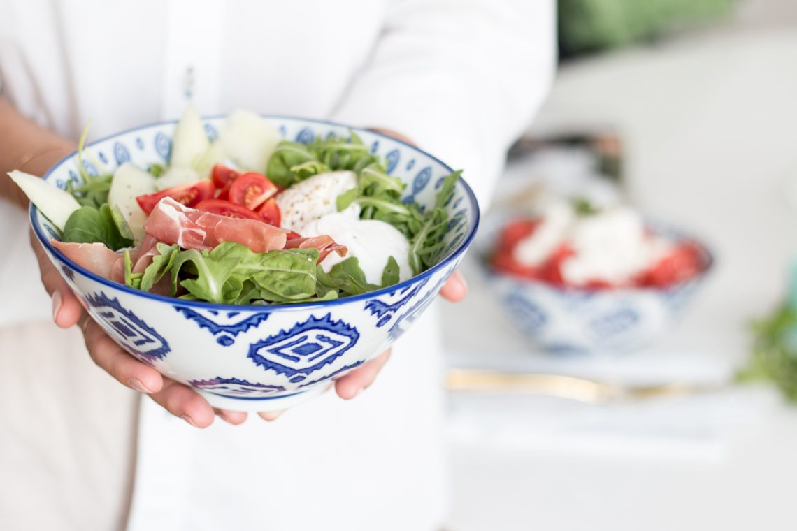 Melon Meets Salad – Two Ways
