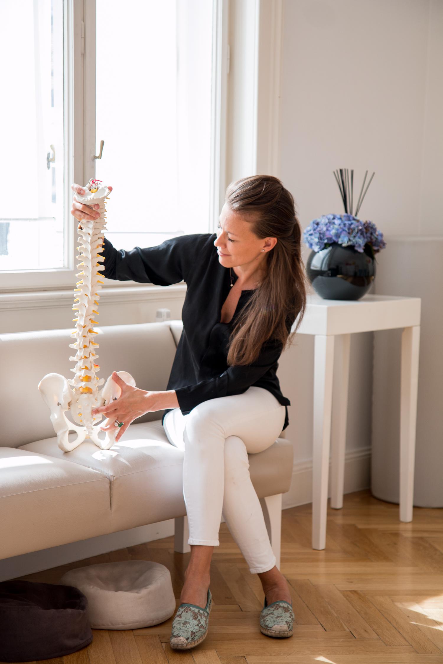 Job Report: Michaela Kainz, Wien Praxis Kainz Physiotherapie Prävention Beratung | Love Daily Dose