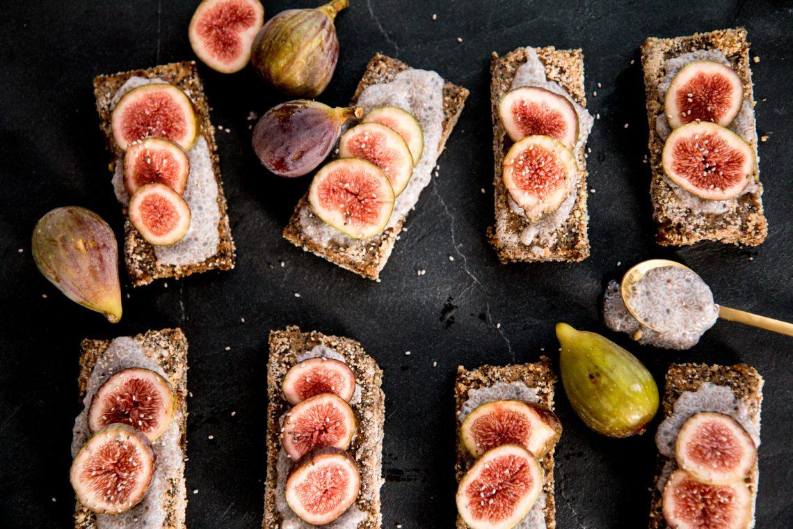 Raw Bakery: Fig & Poppy Bars