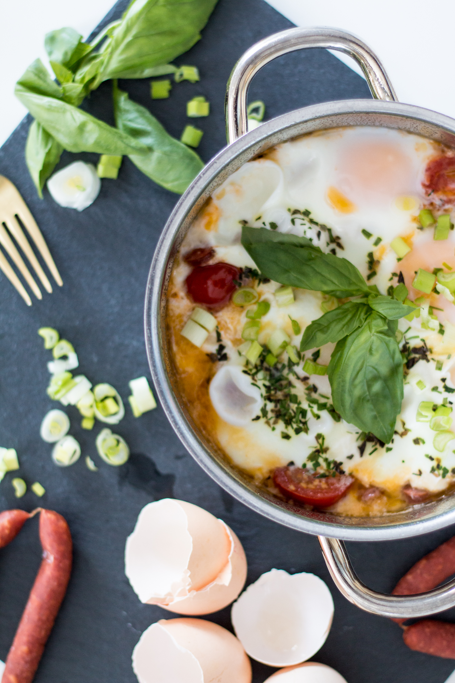 Recipe: Breakfast Eggs With Chorizo | The Daily Dose