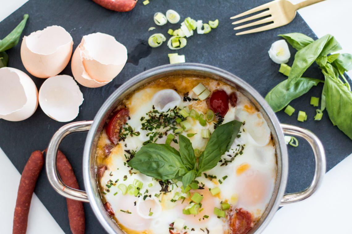 Recipe: Eierpfännchen mit Chorizo