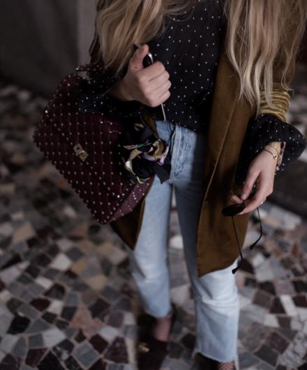 Steal her Style: Velvet Blazer | Love Daily Dose