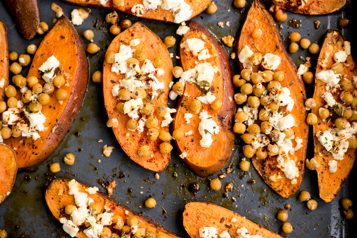 Recipe: Sweet Potato & Feta Sliders   Love Daily Dose