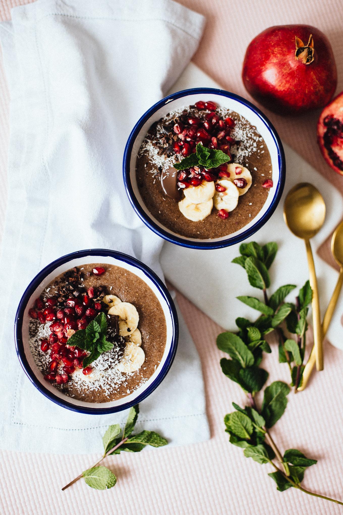 Grießbrei mit Granatapfel   Love Daily Dose