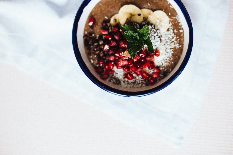 Grießbrei Rezept mit Granatapfel   Love Daily Dose