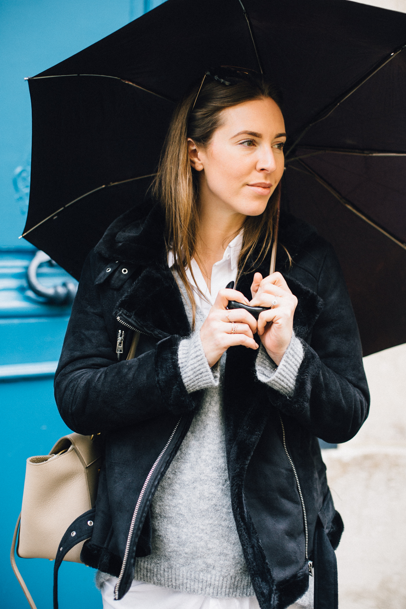 Rainy Days in Paris Outfit | Love Daily Dose