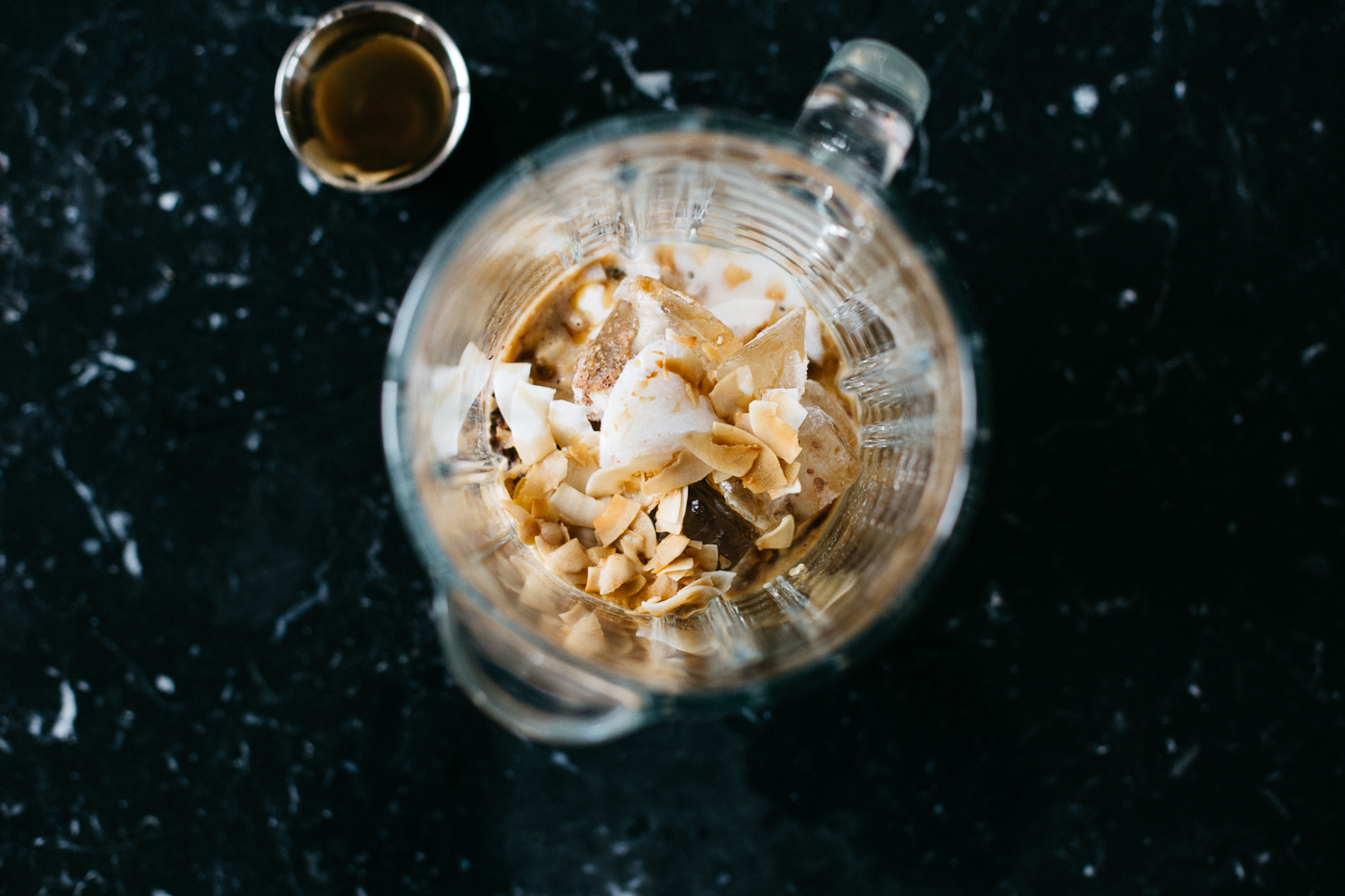 Toasted Coconut Espresso Smoothie | Love Daily Dose