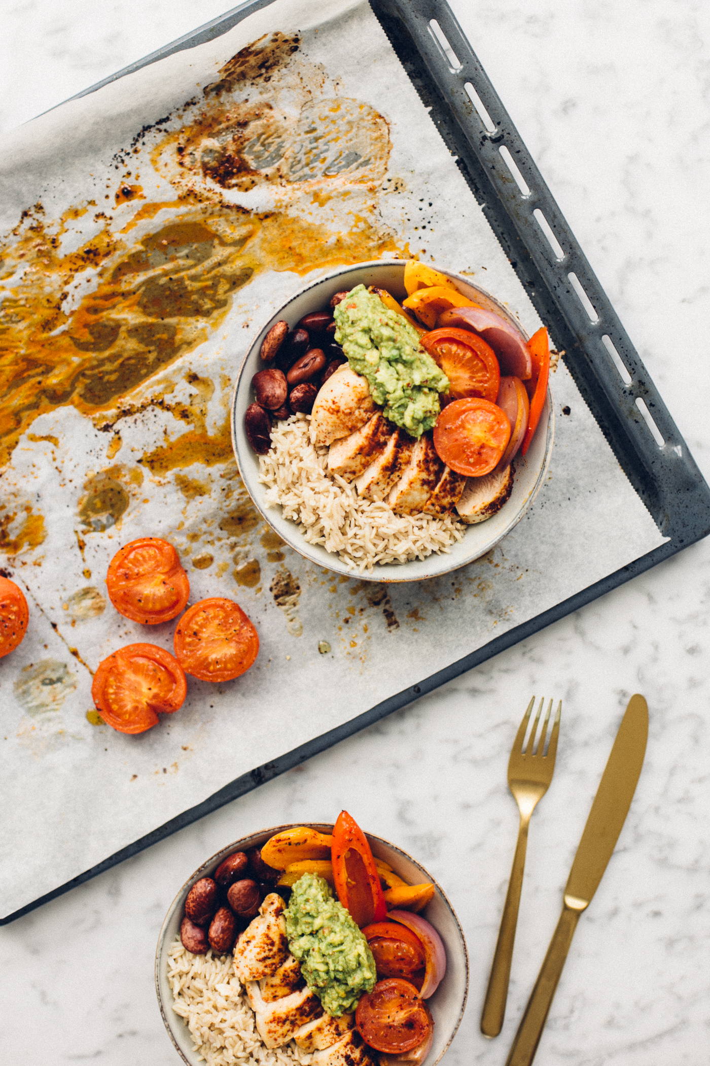 Fajita Rice Bowls Recipe | Love Daily Dose