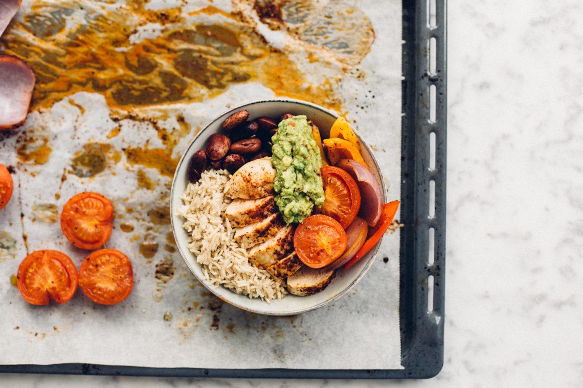 Fajita Rice Bowls