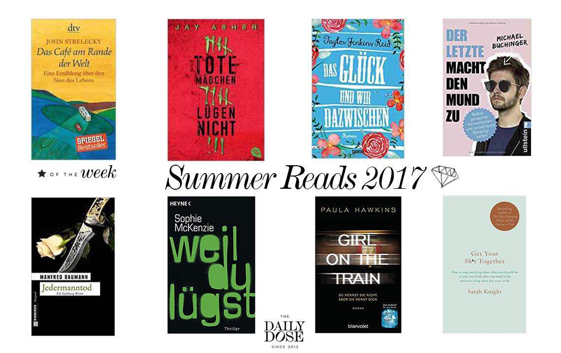 Reading List: Summer Must Reads 2017 | #lovedailydose