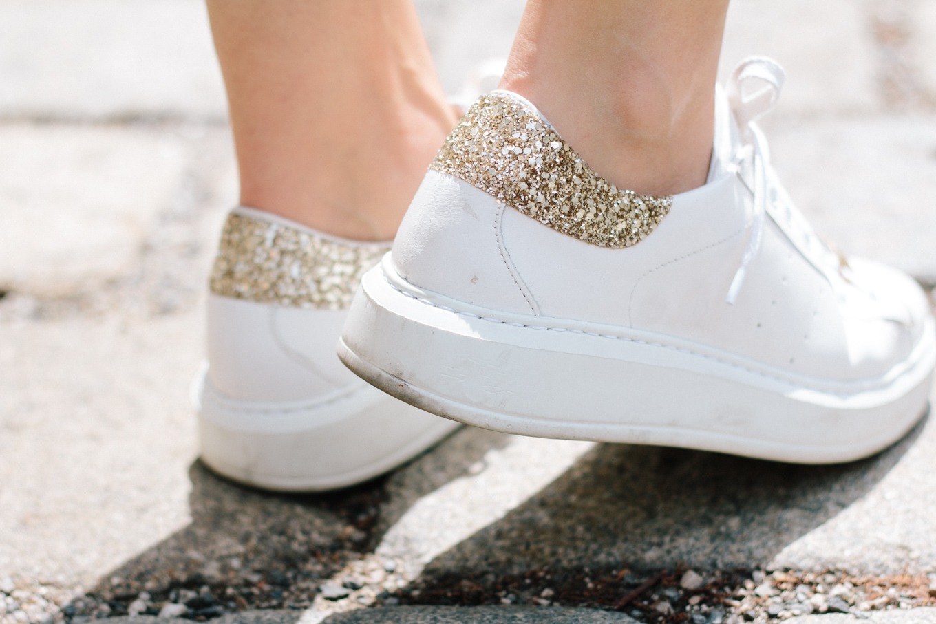 Staple Piece White Sneakers