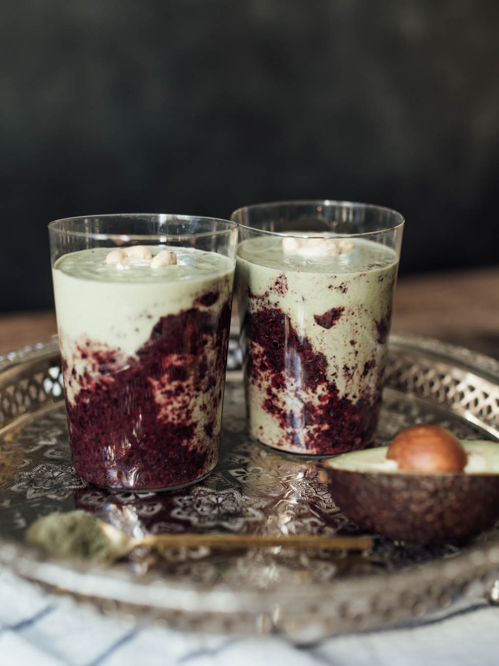 Bubbly Friday: Blueberry Matcha Power Smoothie | Love Daily Dose