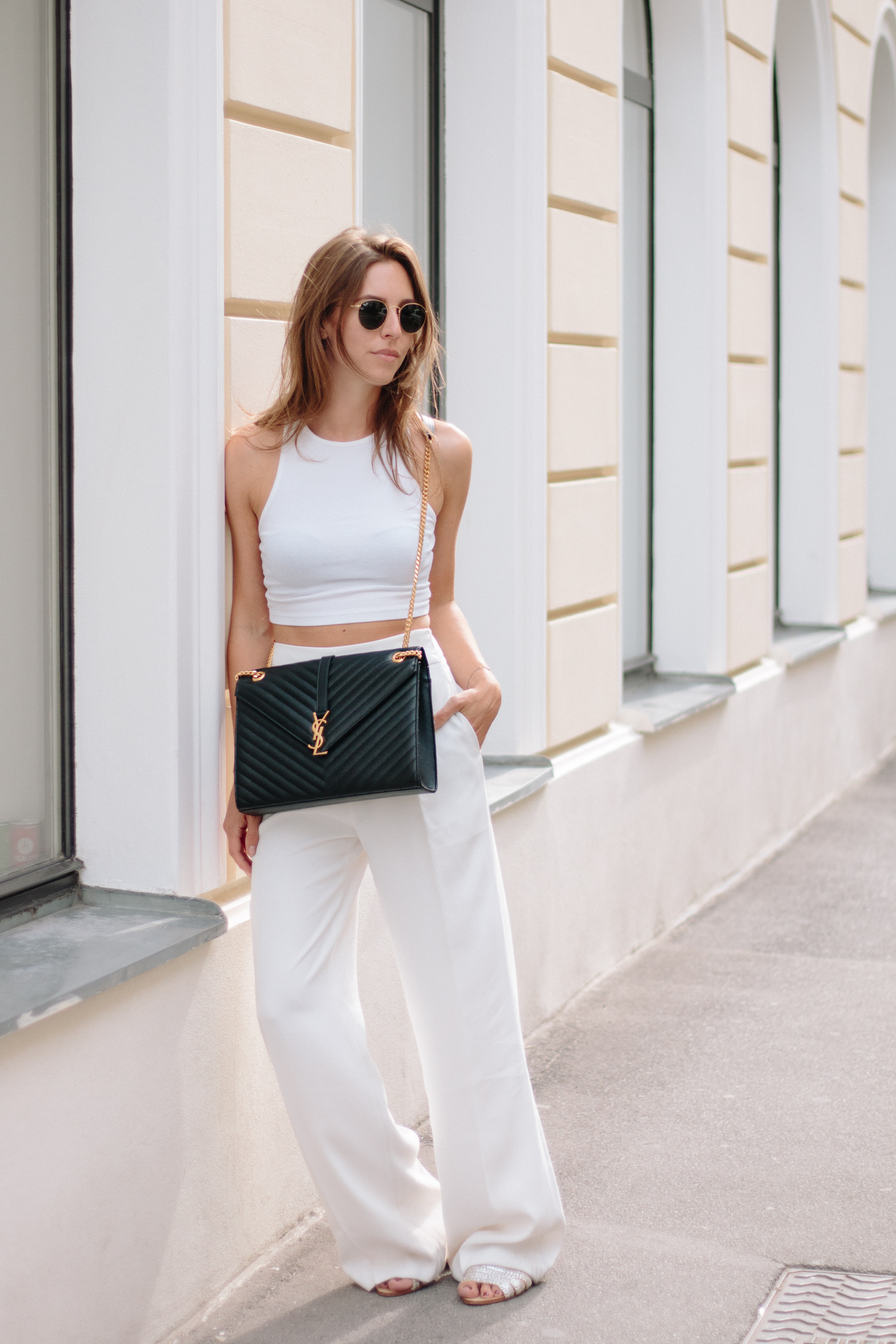 All White Outfit | The Daily Dose