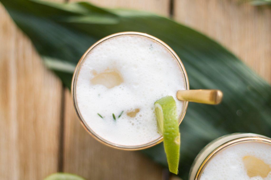 Bubbly Friday: Coconut Rosemary Smash