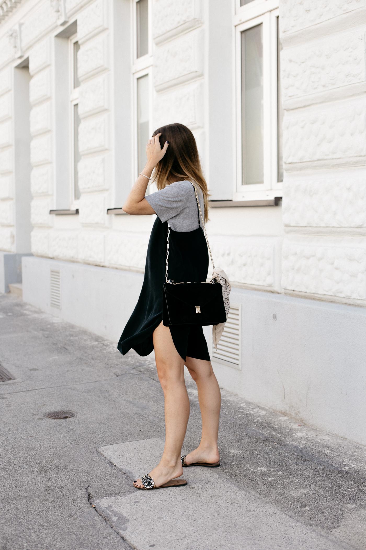 Black Slip Dress for Summer | Love Daily Dose