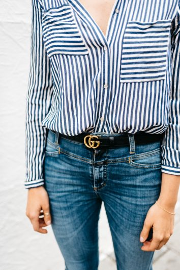 Sosodaily Fleamarket: Striped Blouse | Love Daily Dose