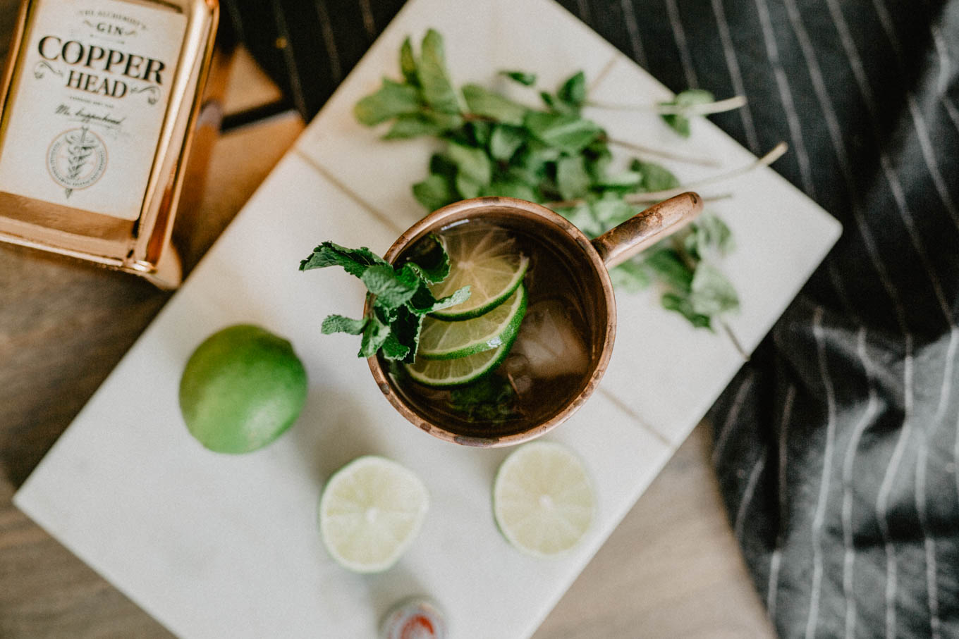 Bubbly Friday: Gin Gin Mule - love daily dose