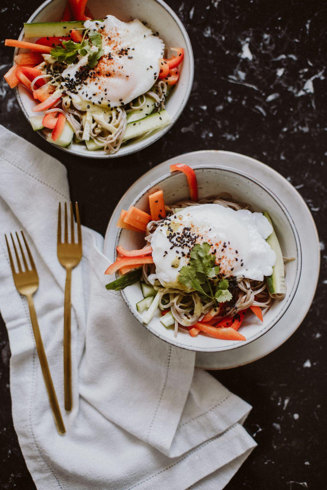 Thai Spiced Soba Salad
