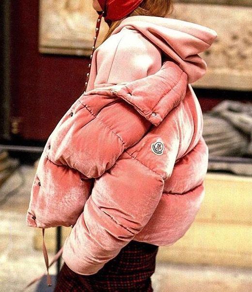 Moncler Velvet Puffer Jacket | Love Daily Dose