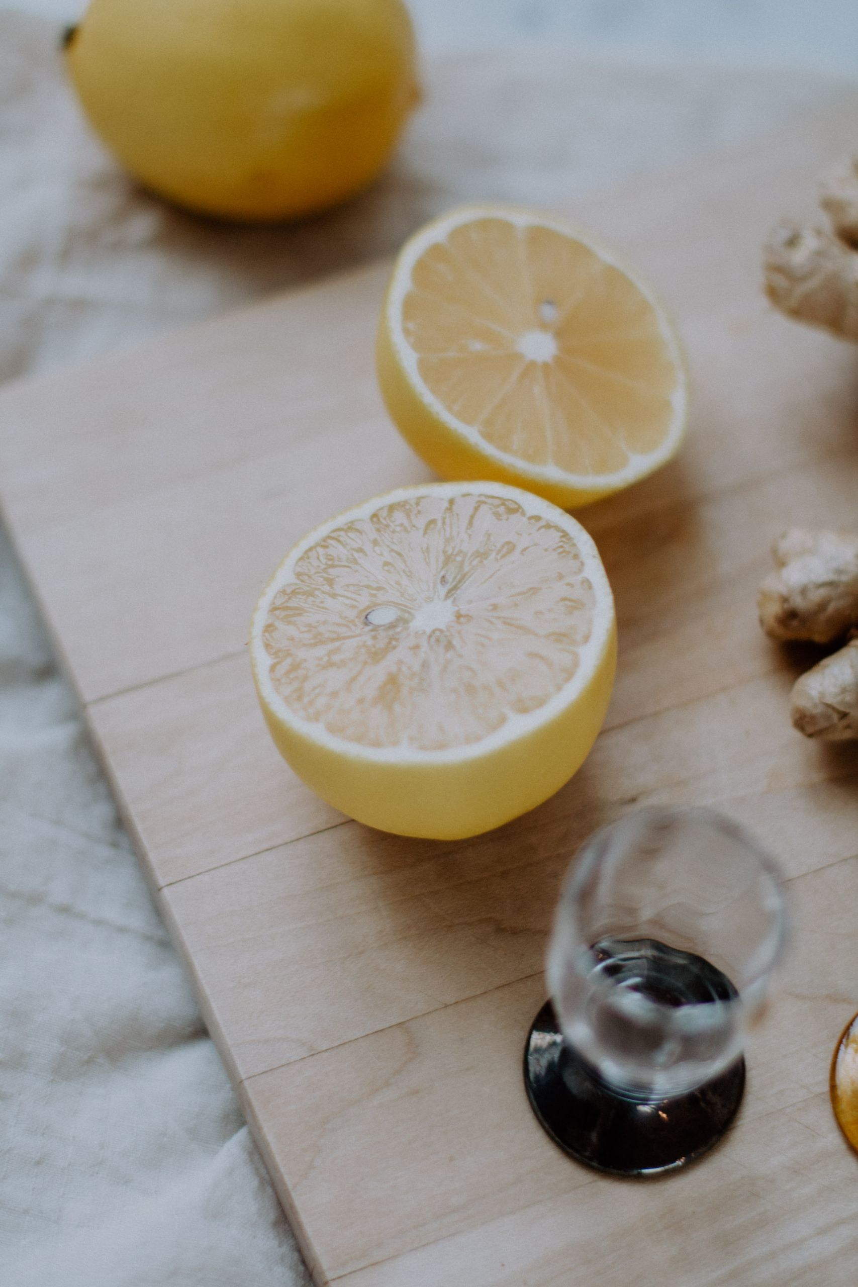 Homemade Ginger Shots   The Daily Dose