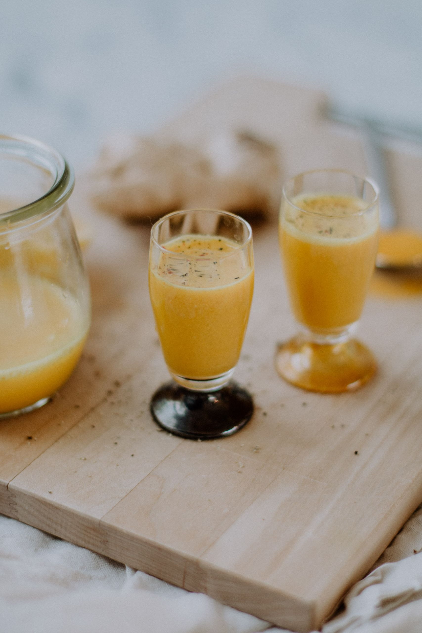 Homemade Ginger Shots | The Daily Dose