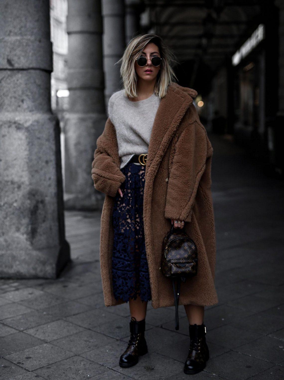 Steal Her Style: Teddy Coat by Aylin König