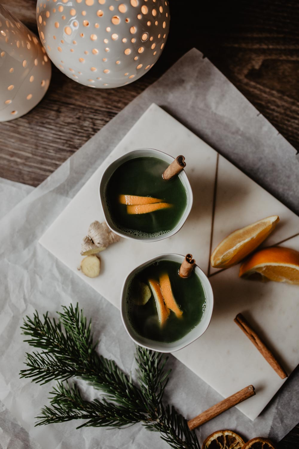 Bubbly Friday: Matcha Mia Punsch | love daily dose