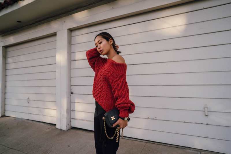 Steal Her Style: Red & Black