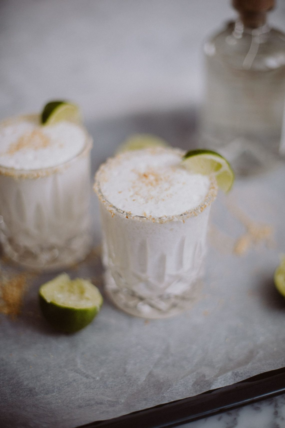 Bubbly Friday: Toasted Coconut Margarita