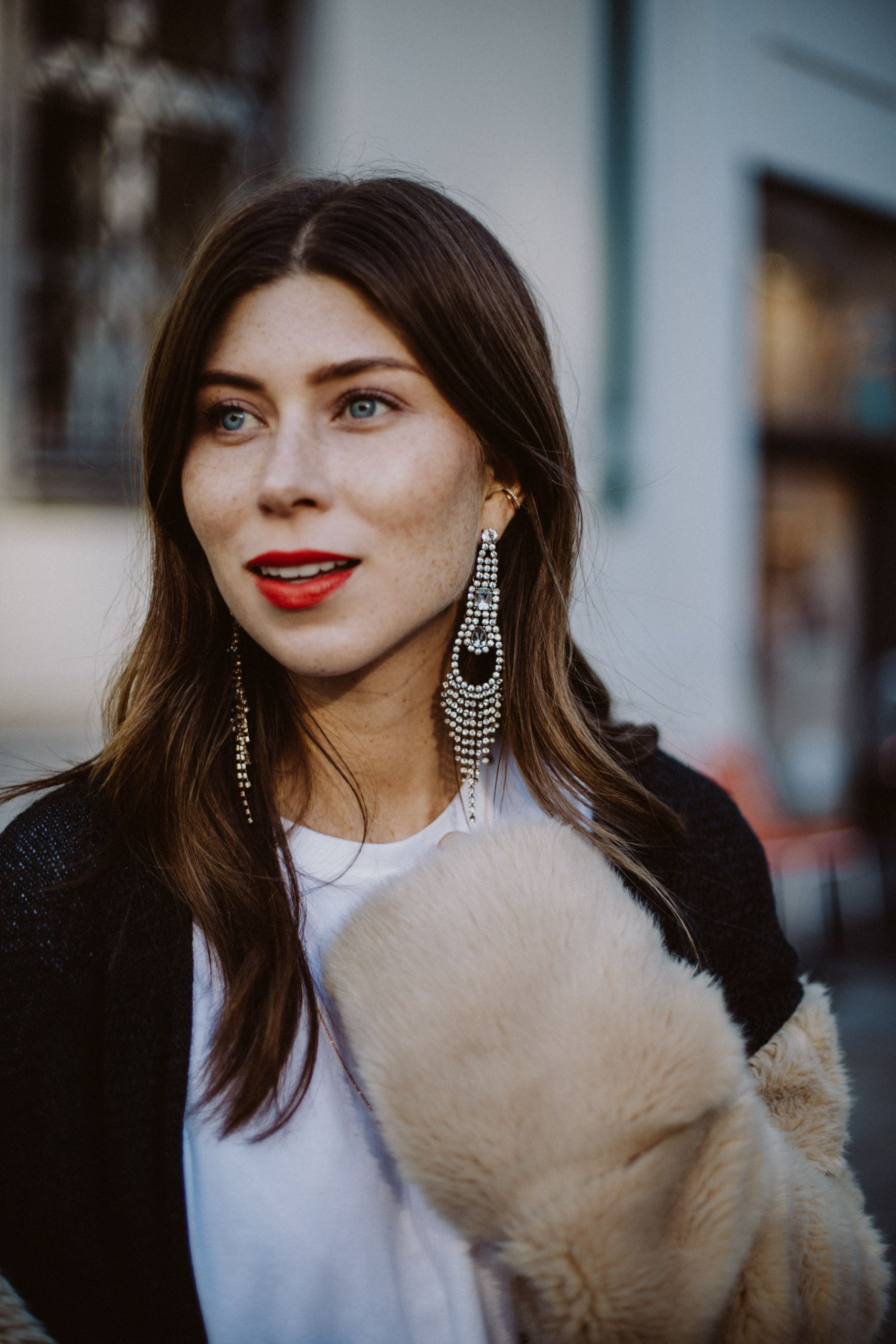 Editor's Pick: Big & Sparkly Earrings | The Daily Dose