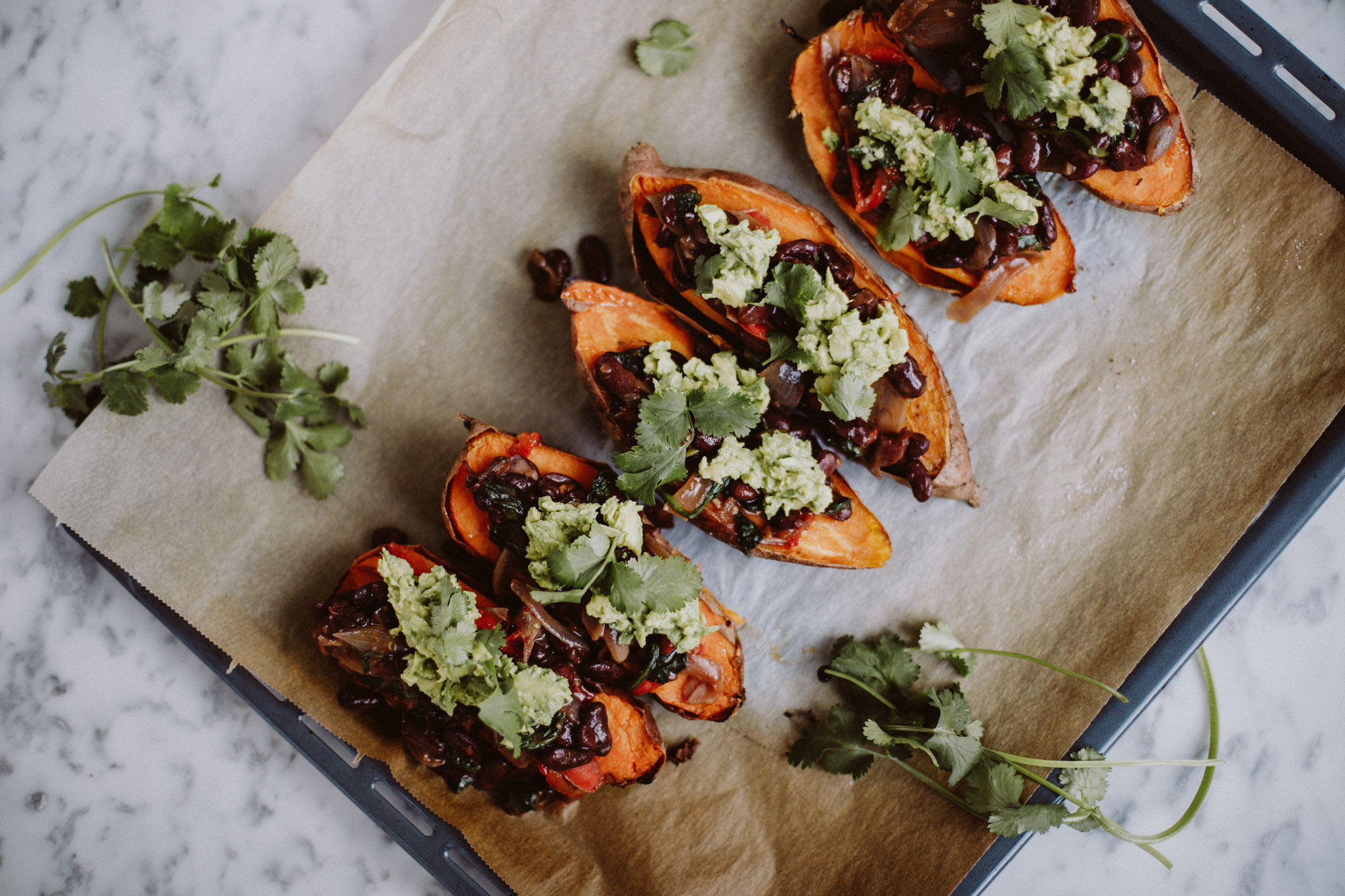 Mexican Stuffed Sweet Potato | The Daily Dose