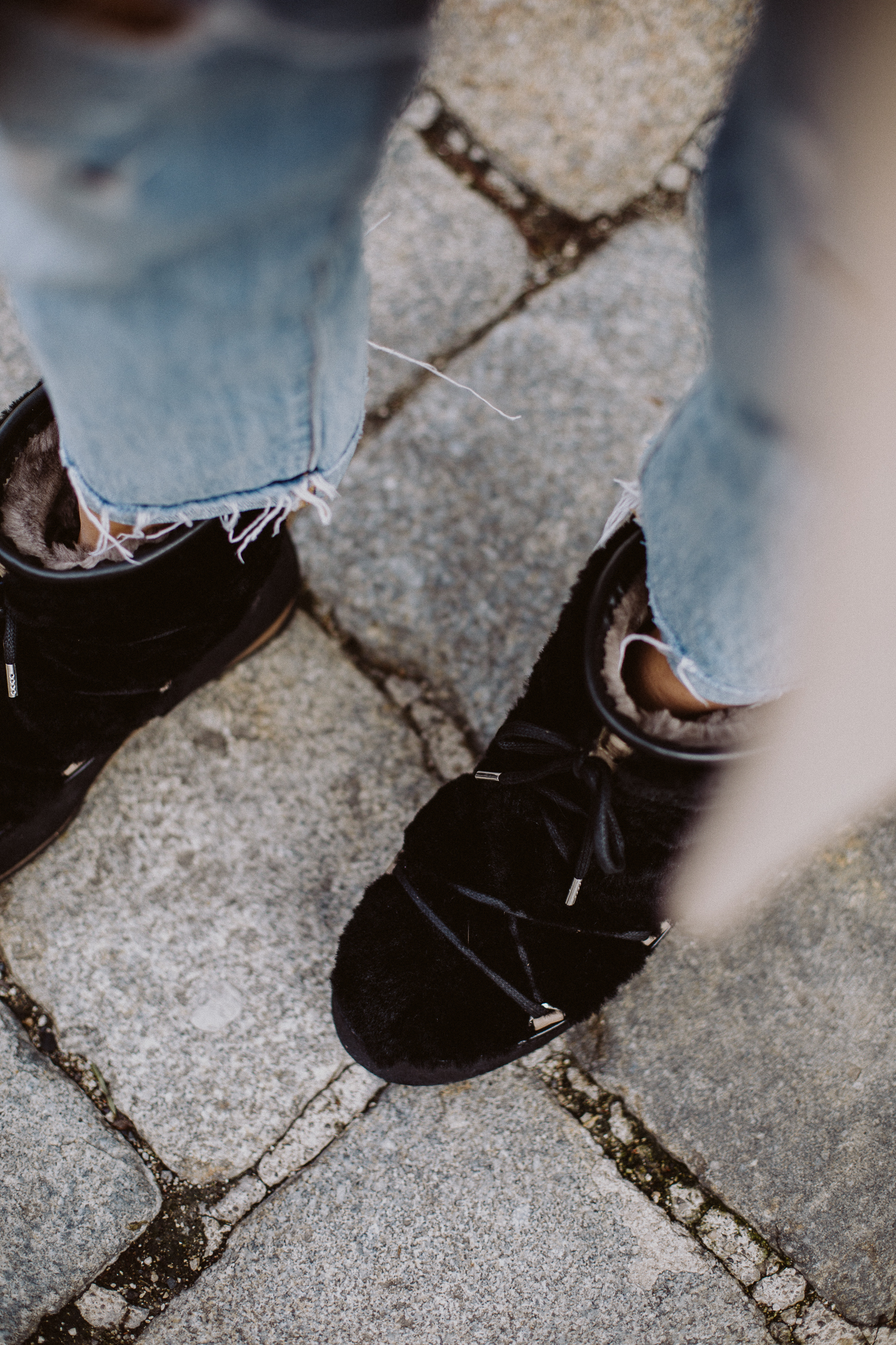 Faux Fur Moon Boots | Love Daily Dose