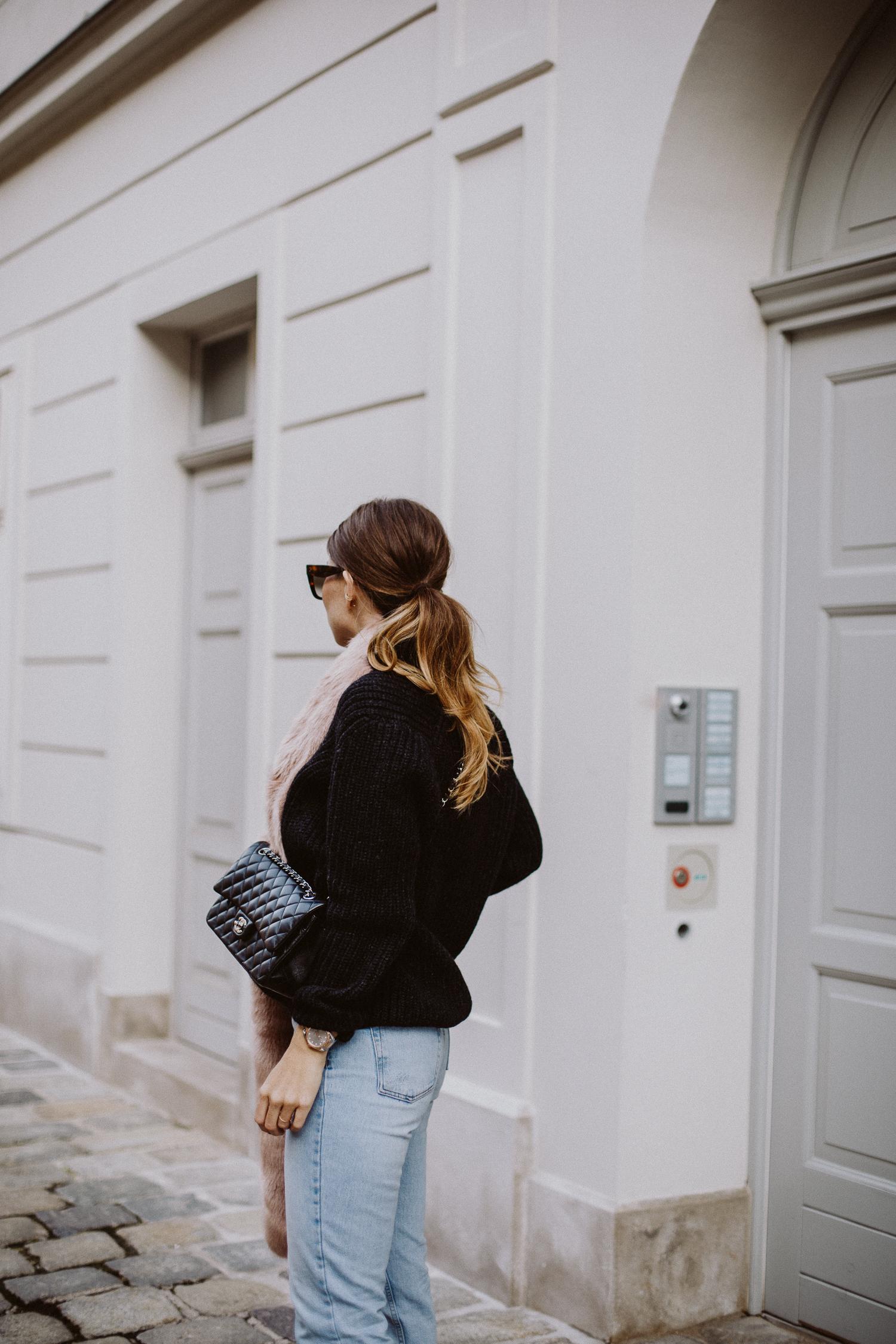 Chanel classic flap bag, medium lambskin | Love Daily Dose