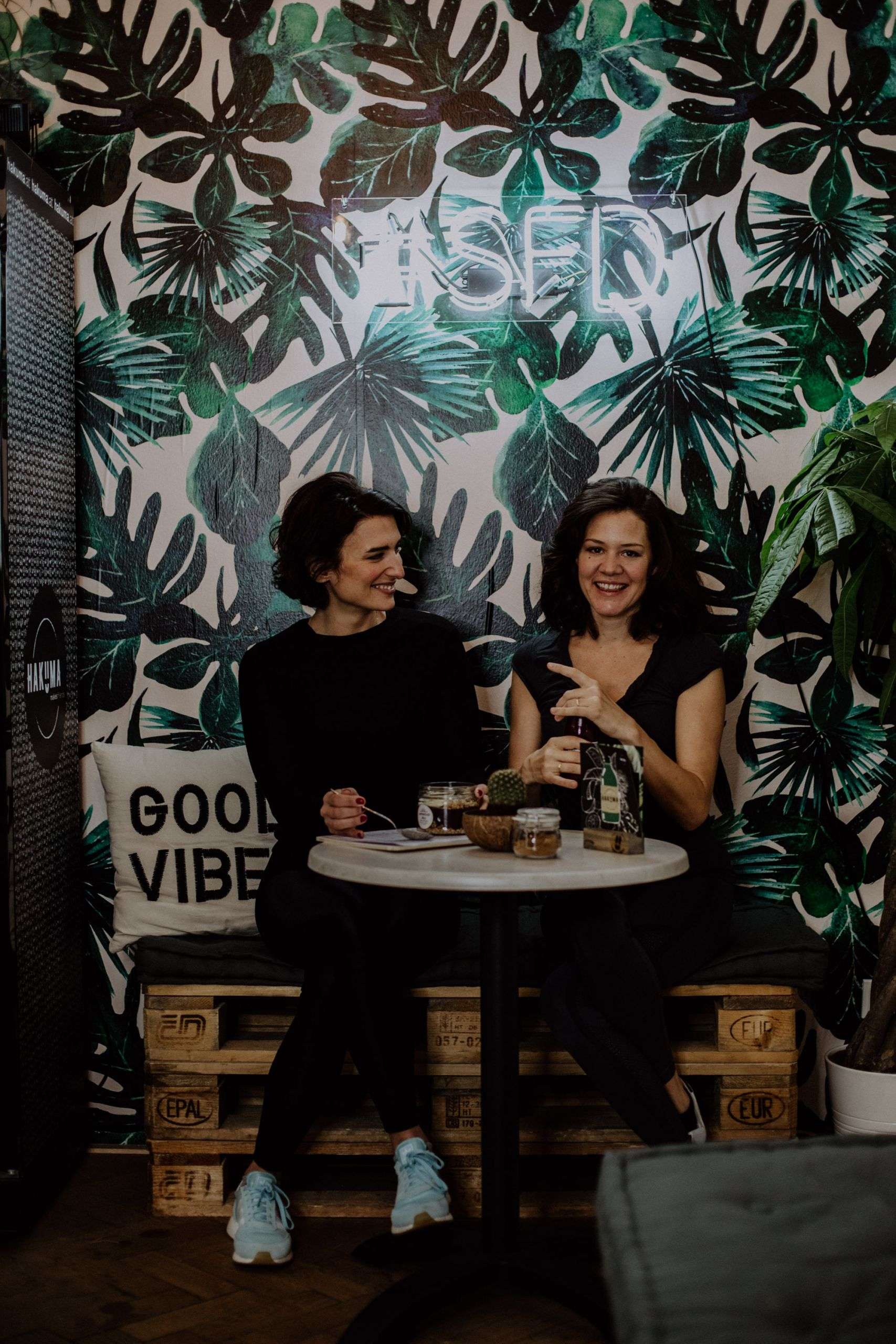 Job Report: Rhana & Lilli, Supercycle Vienna