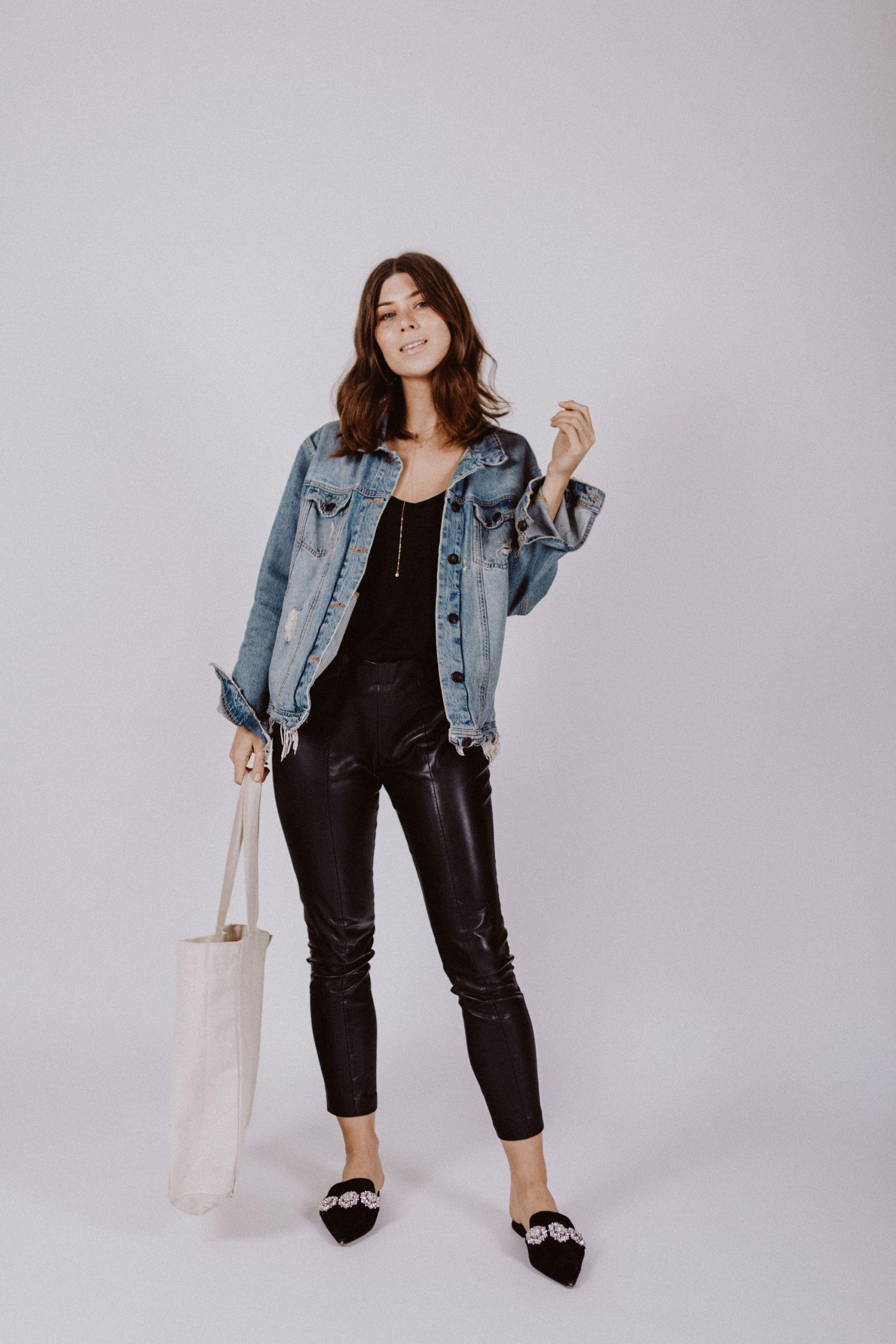 3 Ways To Wear: Oversized Denim Jacket | Love Daily Dose