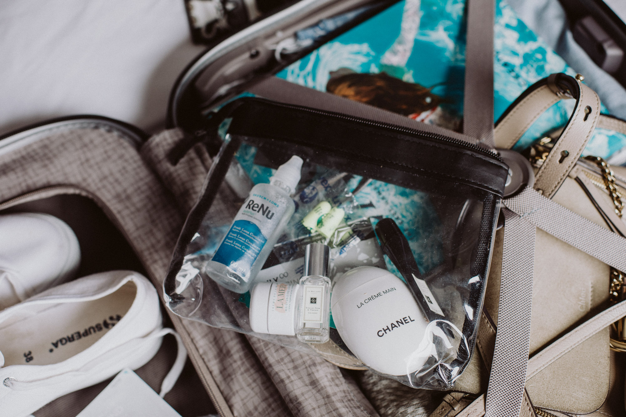 In-Flight Beauty Bag Essentials | The Daily Dose