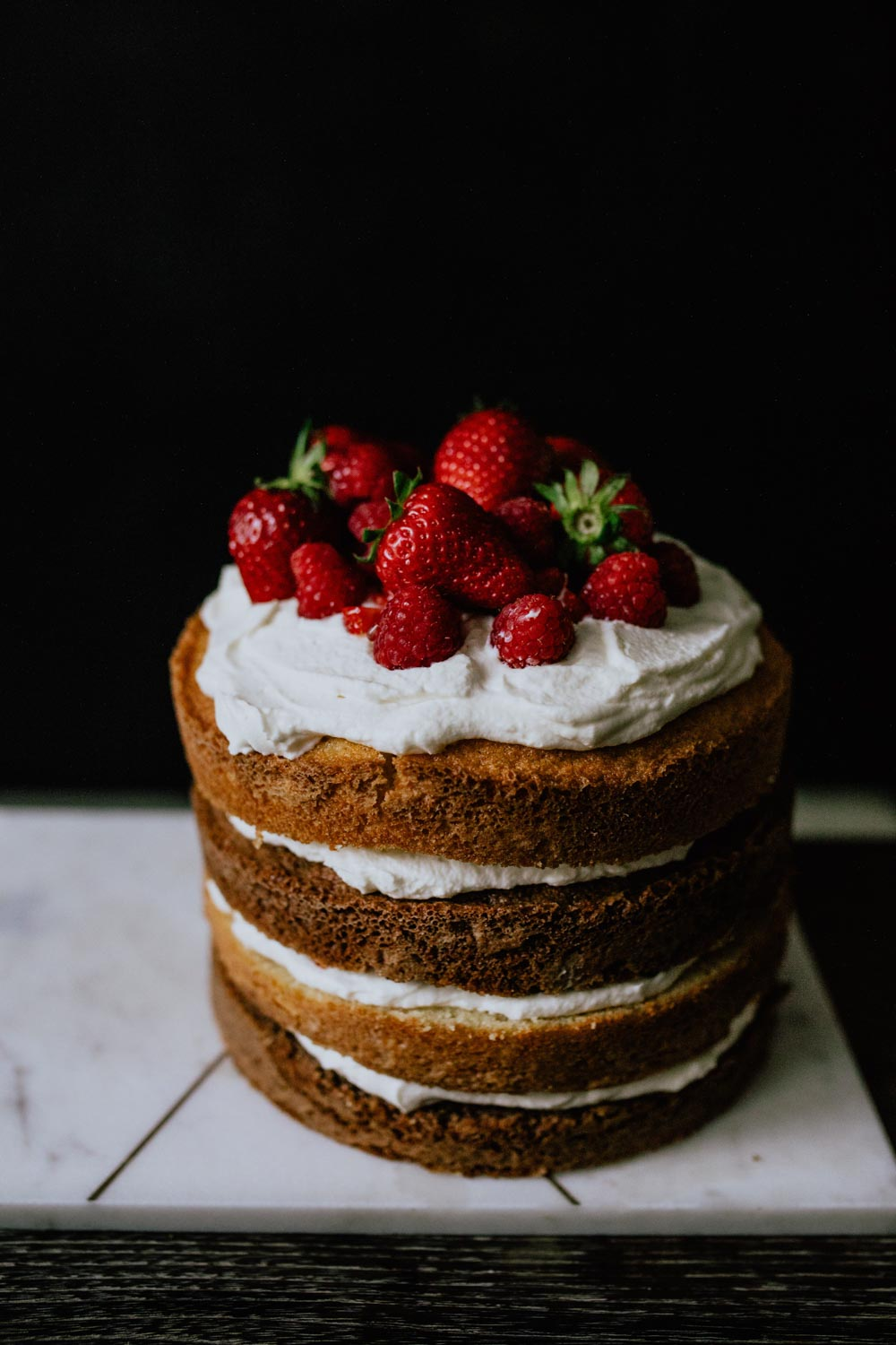 Recipe: DIY Naked Cake