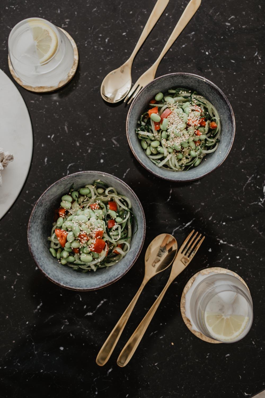 Recipe: Cucumber Edamame Salad | The Daily Dose #lovedailydose