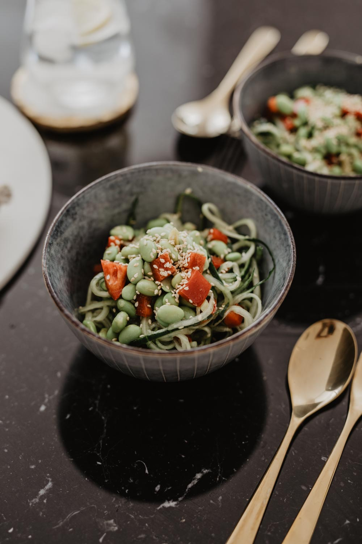 Recipe: Cucumber Edamame Salad