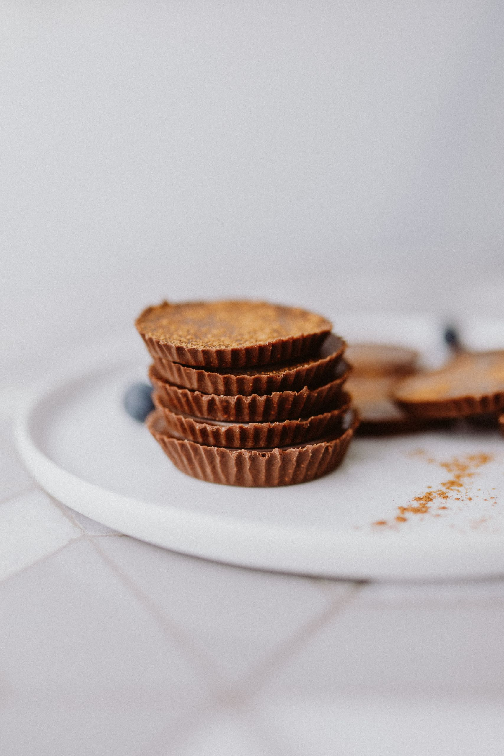 Vegan Paleo Keto Chocolate Cups