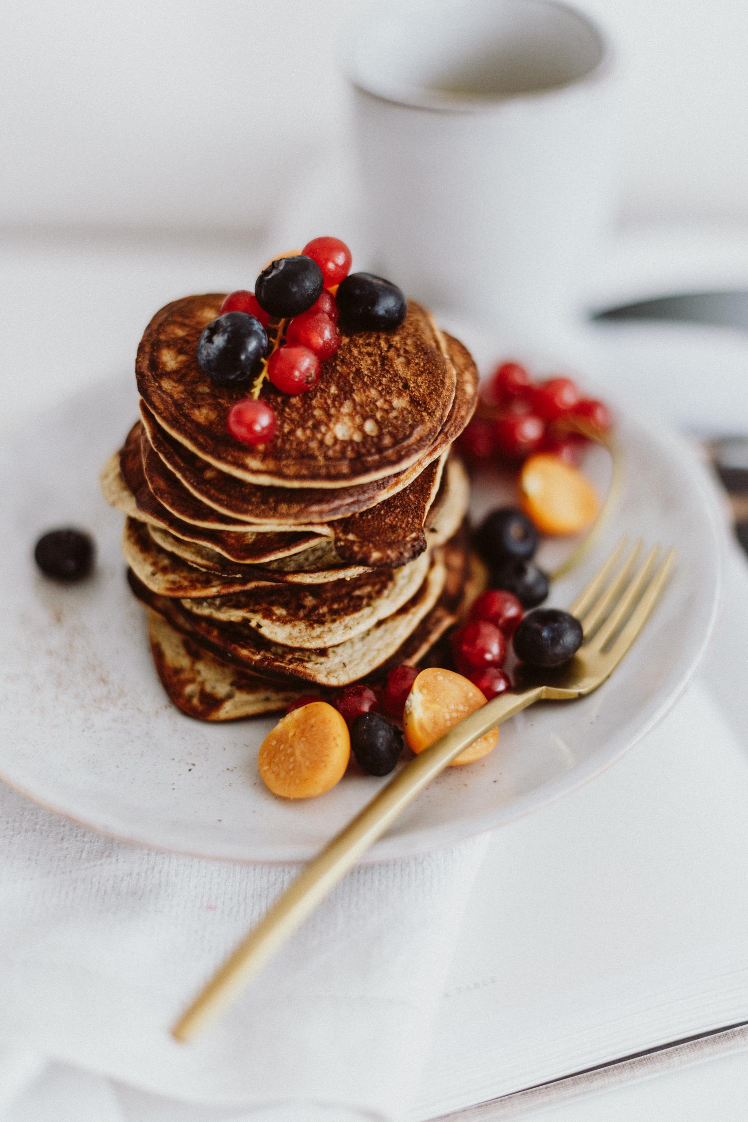 Frühstück nach dem Sport: gluten-free protein pancakes | Love Daily Dose