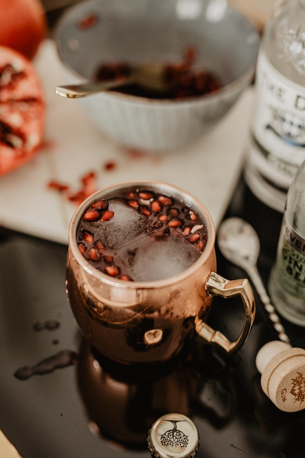 Bubbly Friday: Winter Mule | Love Daily Dose