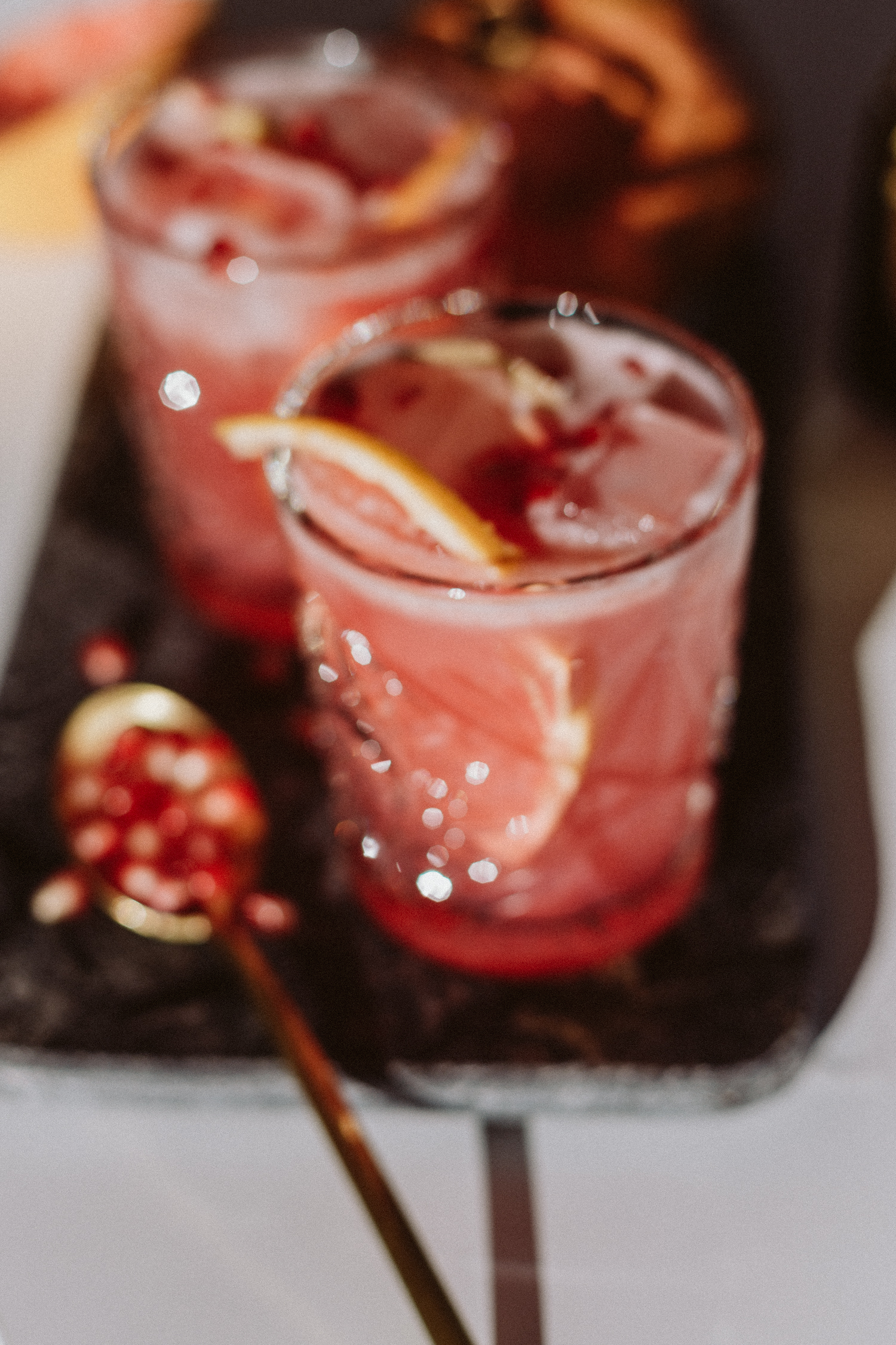 Pomegranate Ginger Paloma Cocktail Recipe - Love Daily Dose