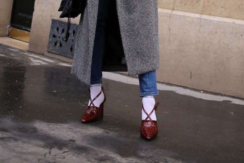 Steal Her Style: Socken in Pumps, gesehen an Tine Andrea | Love Daily Dose