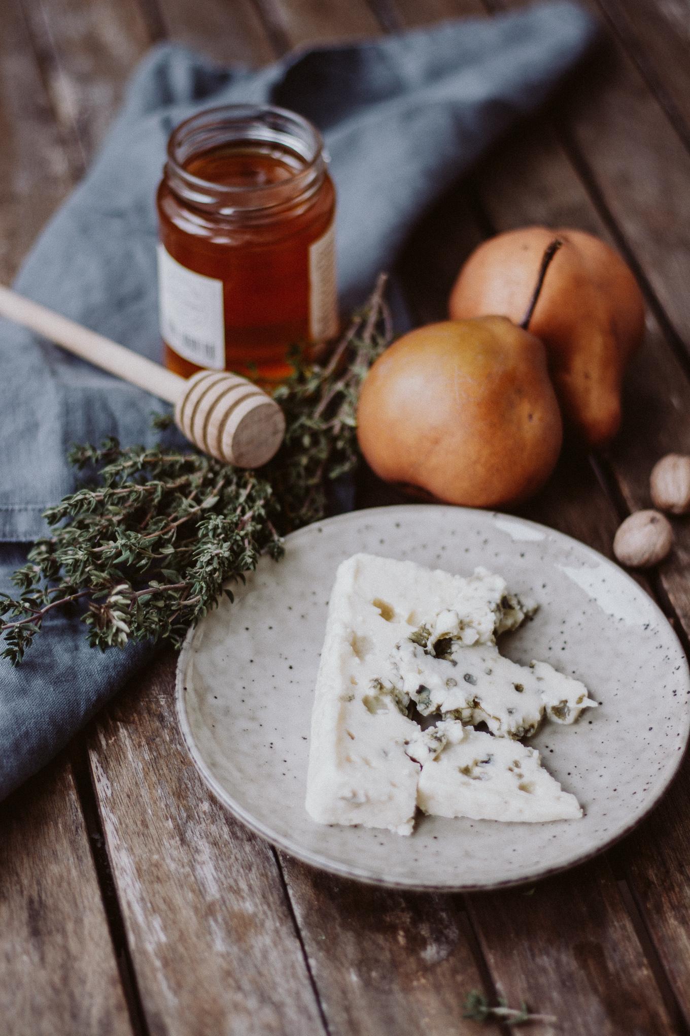 Rezept Birnenhälften mit Gorgonzola The Daily Dose