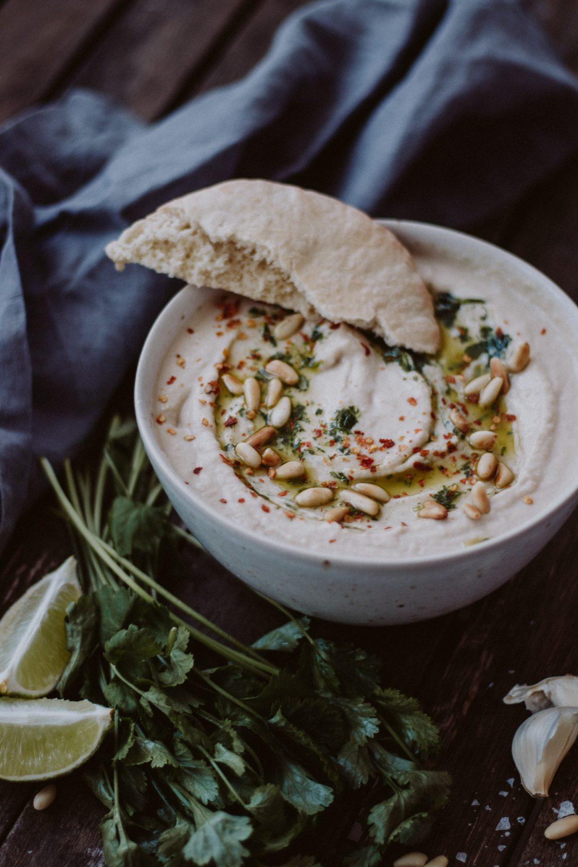 Rezept: Hummus mit weißen Bohnen